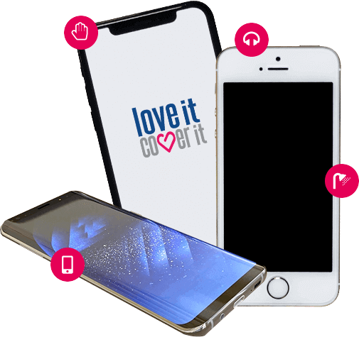 Mobile phone insurance - loveit coverit